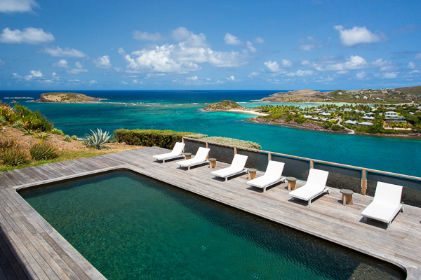 WIMCO Villa WV COS, St Barths, Mont Jean, 4 bedrooms, 4.5 bathrooms, pool, wifi